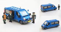 RNlAF Renault Trafic van