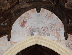 chancel arch doom painting