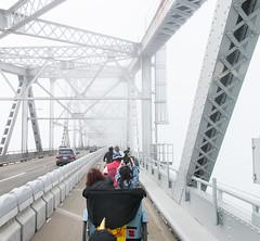 Richmond Bridge bike path grand opening