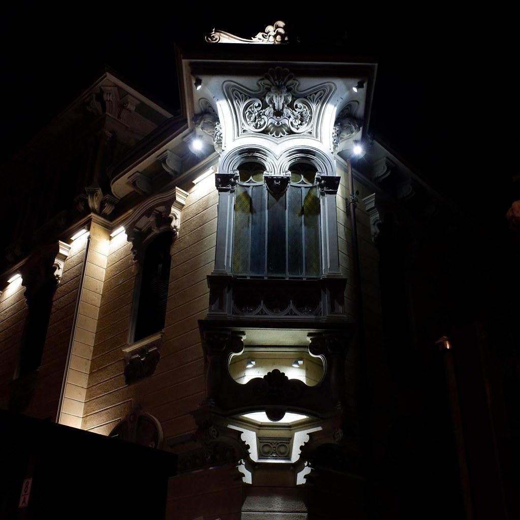 Casa Fenoglio la notte