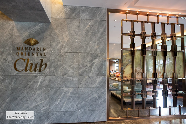 Mandarin Oriental Club entrance