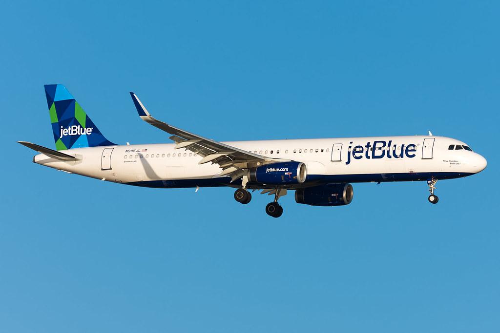 JFK | N995JL | New Number, Blue Dis?