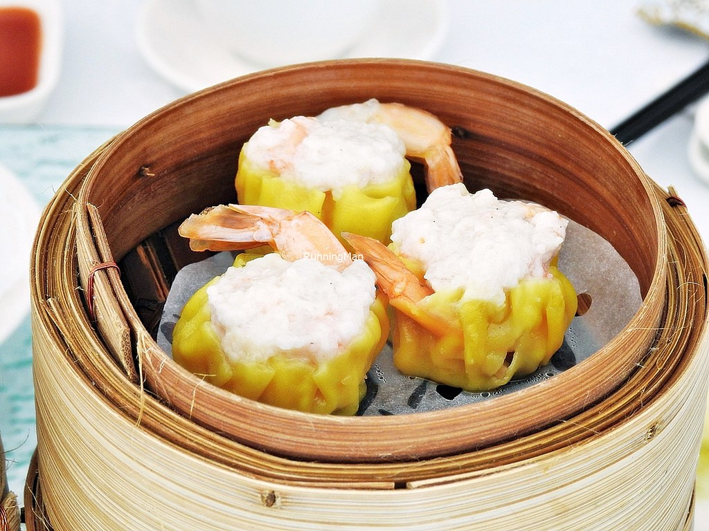 Steamed Siew Mai Dumplings With Prawn