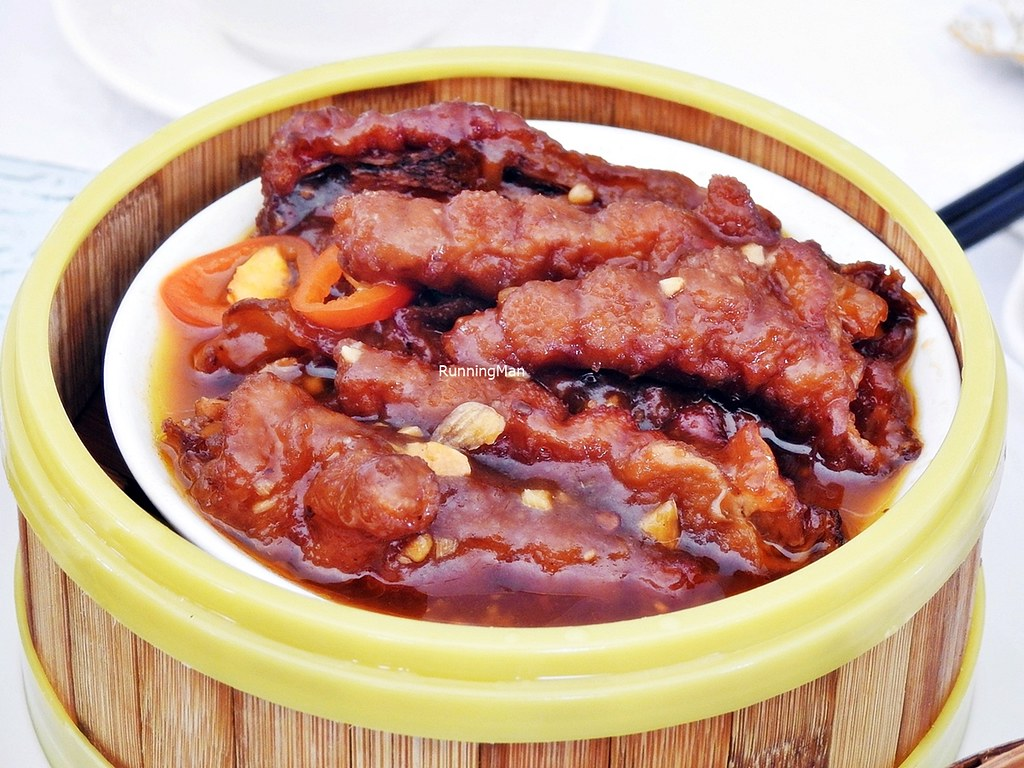 Steamed Chicken Feet With Black Pepper