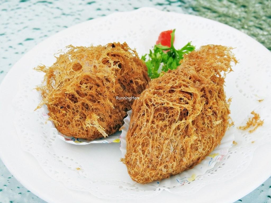 Crispy Scallop, Chicken, Yam Taro Dumplings