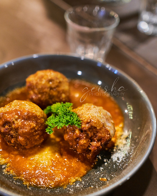 these meatballs... so good...