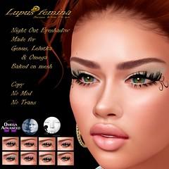 """""""Lupus Femina"""" Night Out eyeshadow - W/ appl. + BOM"""