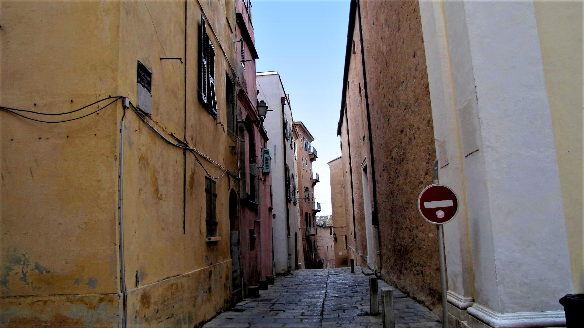 Bastia, rue de l'Évêché