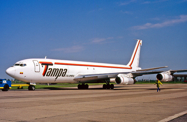HK-3604X Boeing 707-324C Tampa Airlines