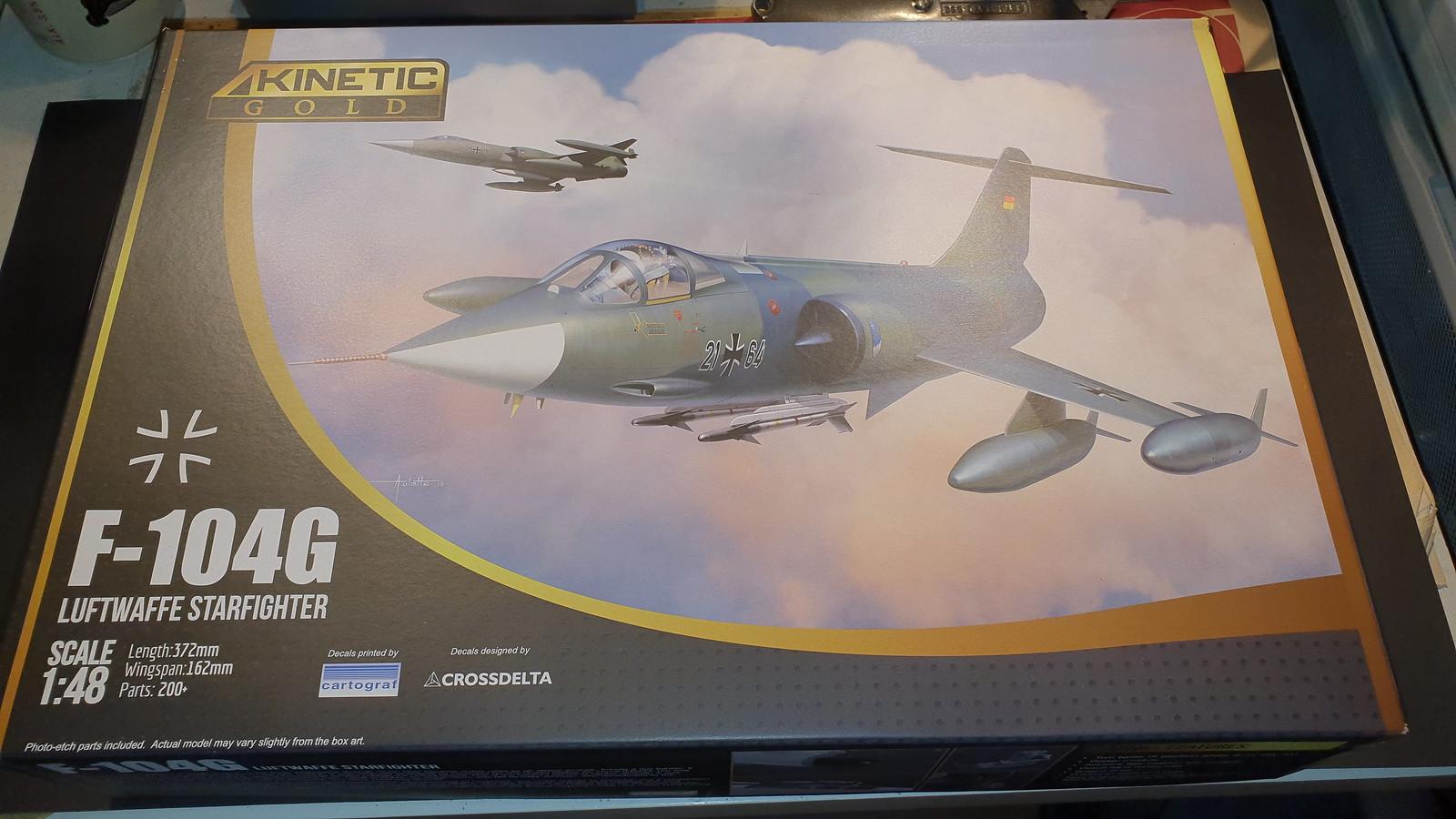 F-104G Starfighter Luftwaffe JaboG 31 24+95 1983 - Kinetic 1/48 49078156377_688d3d7f91_h