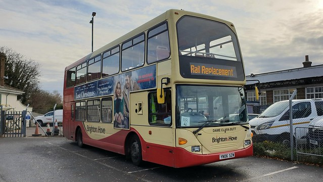 Brighton & Hove 667 (YN06 SZW) Barnham Station 17/11/19