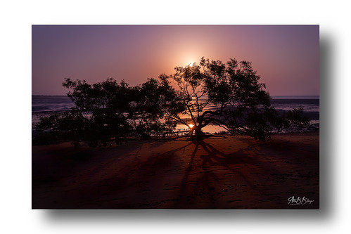 australia sunset beach nature evening color ocean seaside