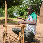 Besides being an ASC, N'bana N'sacra (47) also builds traditional chairs - Reinier van Oorsouw & UNICEF Togo :copyright: - 2019