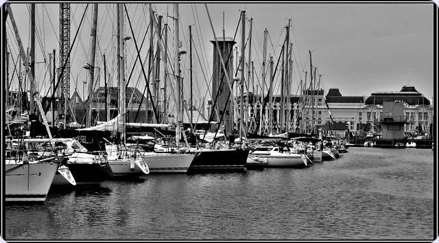 Port de Deauville, Normandie,France