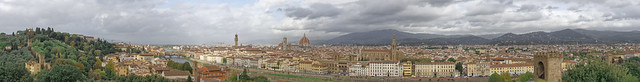 Panorama of Florence - As Seen From Piazzale Michelangelo