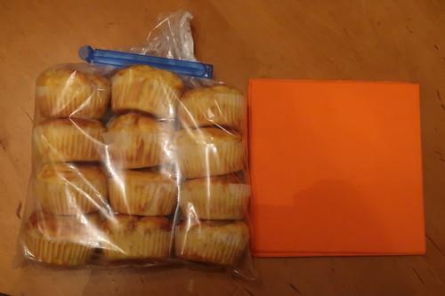 12 Käse Schinken Muffins (zum Mitnehmen)