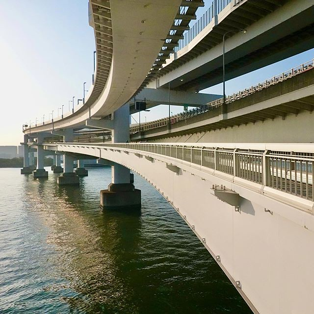#RainbowBridge is beautiful. #レインボーブリッジ #Minatoku #港区 #日本 #Japan #東京 #Tokyo #PuenteRainbow #레인보우브리지 #Радужный мост #彩虹大橋 #橋 #bridge