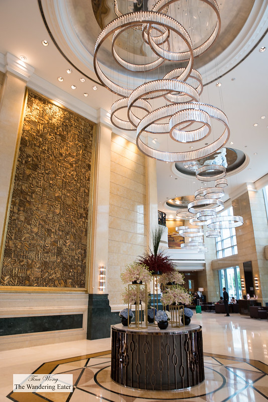 Lobby of the Four Seasons Shanghai