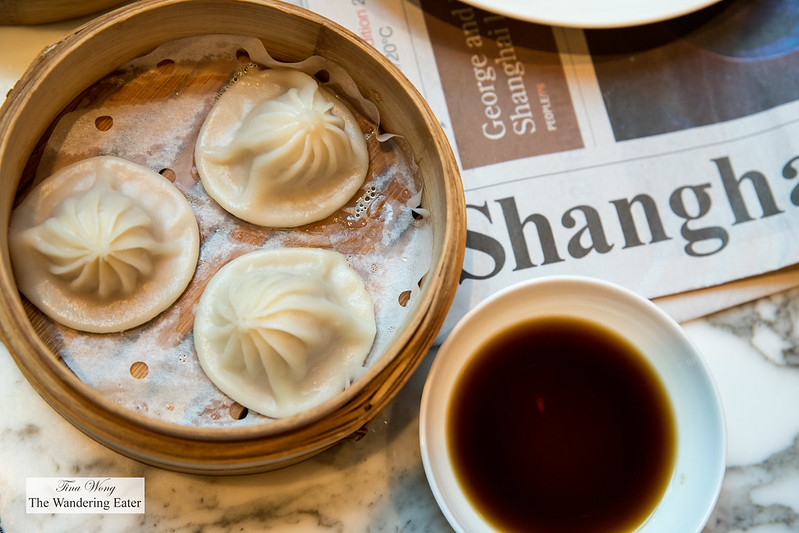 Soup dumplings at Cafe Zest