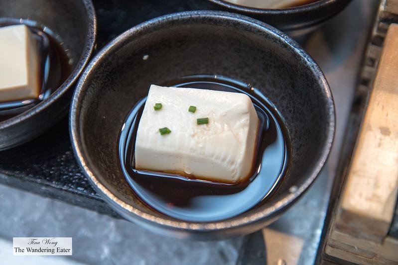 Fresh Japanese style tofu