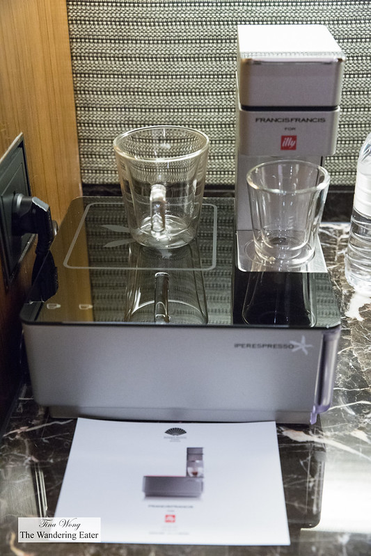 A unique illy espresso machine