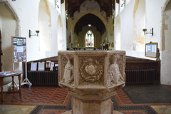 font, looking east