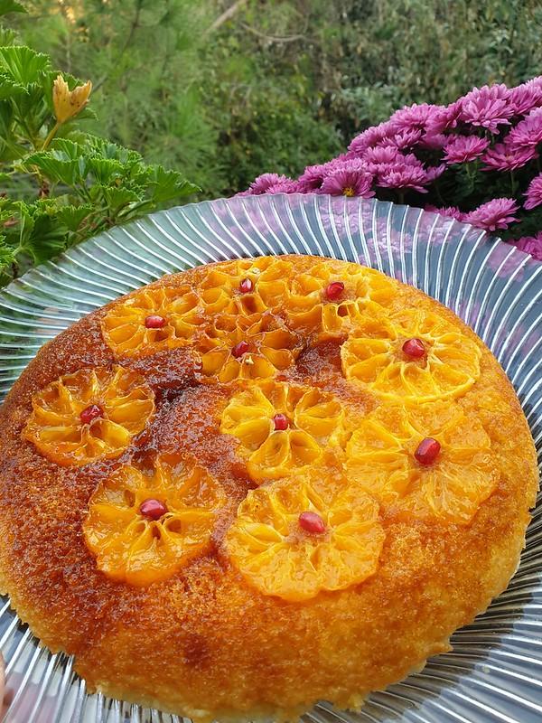 mandalinalı tava keki tarifi