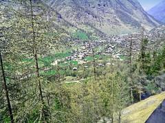 Suisse, la descente sur Zermatt avec le Train à Crémaillère