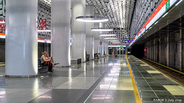 Helsinki, Finland: Urheilupuisto metro station - Opened in 2017