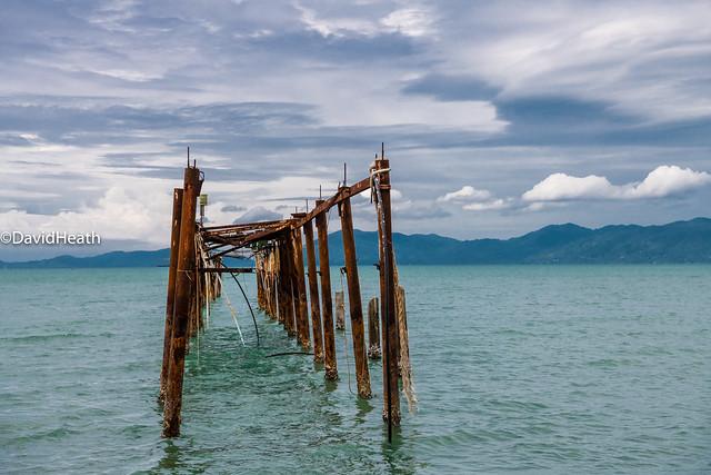 Koh Samui Decaying Pier