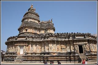 9357 - Vidyasankara Temple, Sringeri