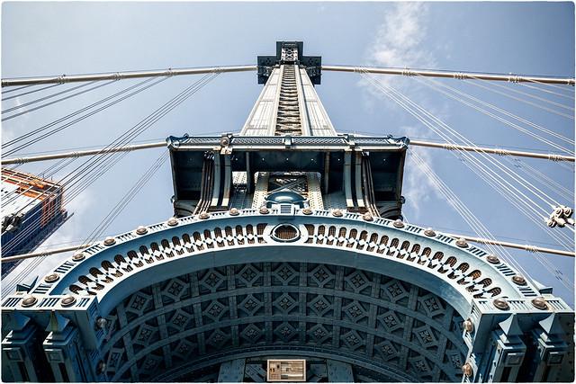 Manhattan Bridge Pillar