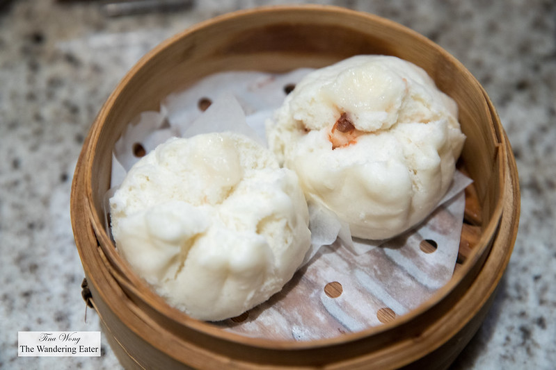 Steamed char siu bao at Cafe Zest