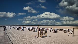 Am Strand - Insel Spiekeroog