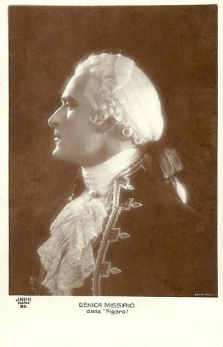 Genica Missirio in Figaro (1929)