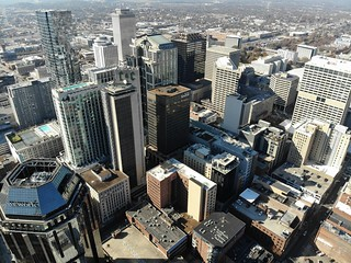 Aerial Shot of Downtown Nashville | by adl1056