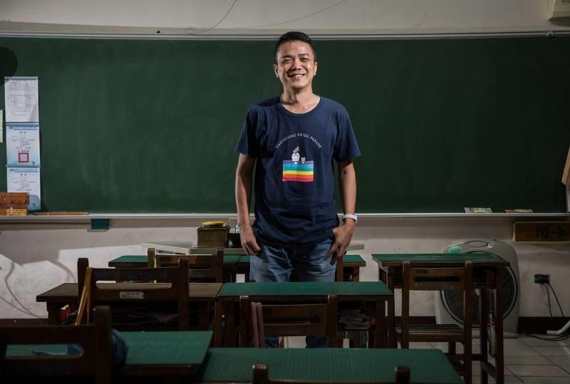性別教育融入在劉育豪的班級經營裡。圖/擷取自劉育豪臉書粉專