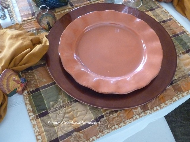 Thanksgiving Tablescape at FromMyCarolinaHome.com