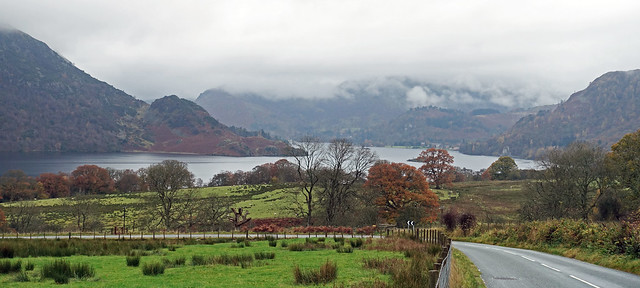 Ullswater from the Dockray road.