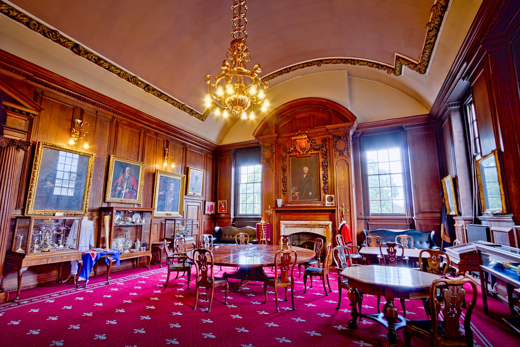 Lancaster Town Hall Mayors Parlour Room