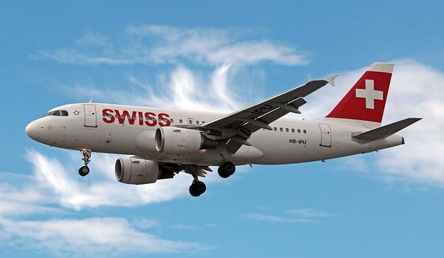 HB-IPU EGLL 05-07-2019 Swiss Airbus A319-112 CN 713