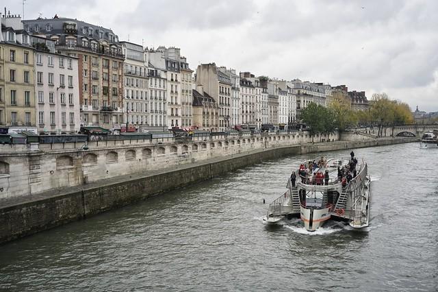 Sena, París.