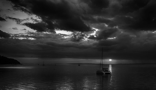 Clearing Storm at Sunset - Hervey Bay Queensland | by bidkev1 and son (see profile)