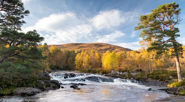 Autumn on the Glen Affric River