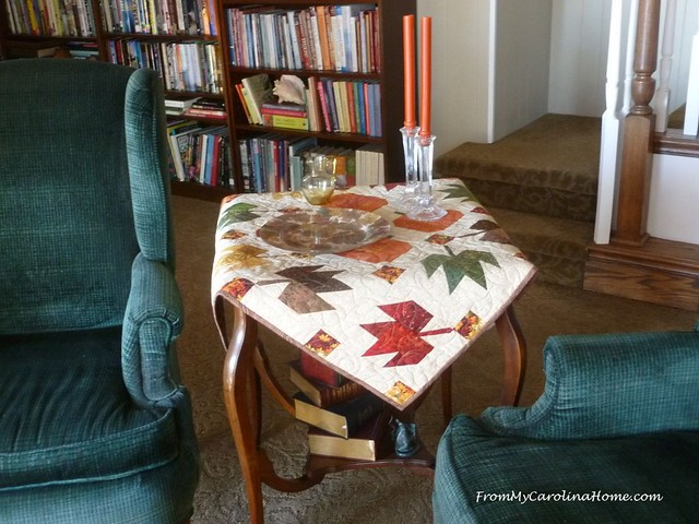 November Decorating with Quilts at FromMyCarolinaHome.com