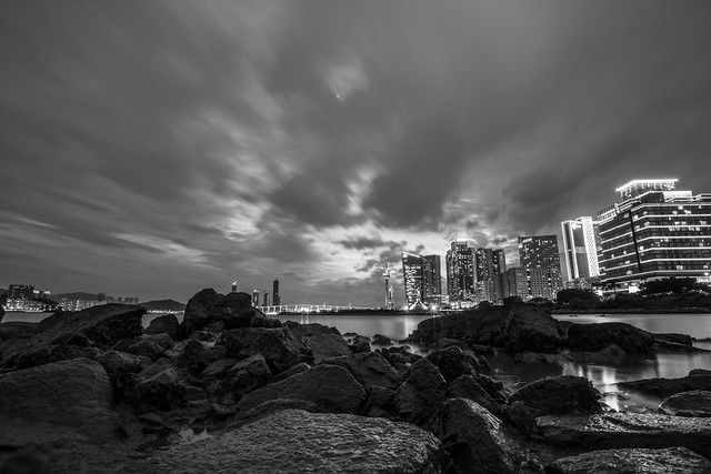Down by the Sea, Black & White, Macau