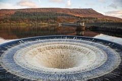 Ladybower Reservoir.