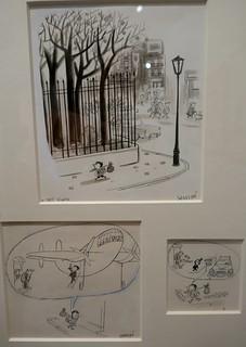 """""""Le Petit Nicolas, je quitte la maison"""", exposition """"Sempé en liberté"""", musée mer marine, rue des Etrangers, Bacalan, Bordeaux, Gironde, Nouvelle-Aquitaine, France."""