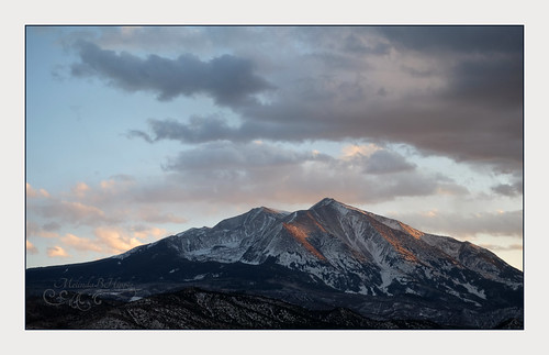sopris mountsopris mountain rockies rockymountains carbondale colorado landscape sky skies skyscape sunset clouds cloudscape
