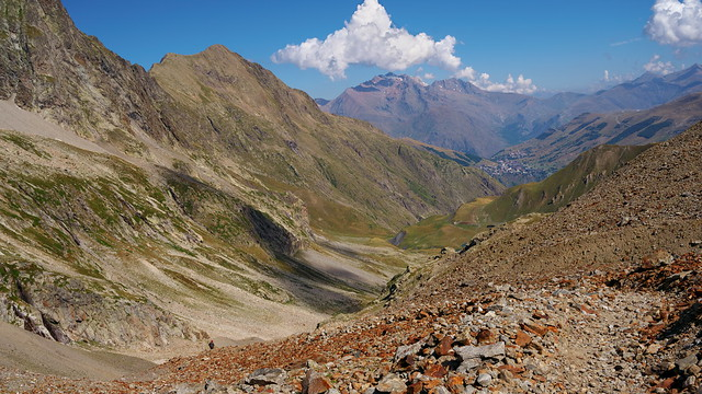 Descent from Col de Muzelle 2
